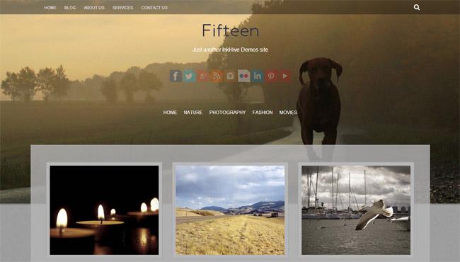 Fifteen WordPress Theme