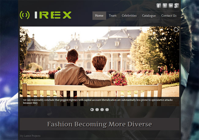 Irex Lite WordPress Theme