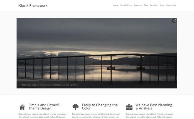 Klasik WordPress Theme