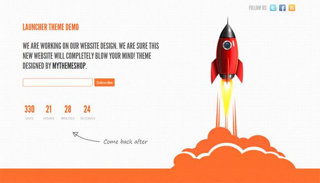Launcher Free WordPress Theme