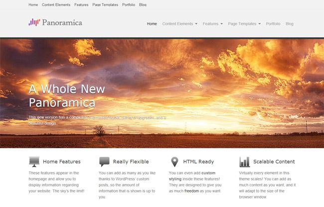 Panoramica WordPress Theme