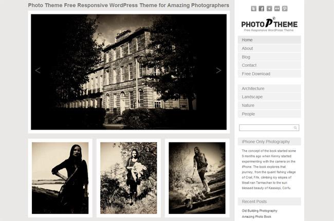 Photo Theme WordPress Theme