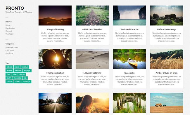 Pronto Free WordPress Theme