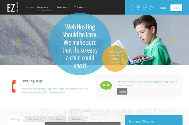 EZ Web Hosting