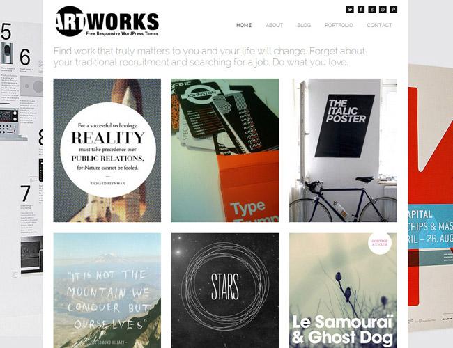 Artworks Free WordPress Theme