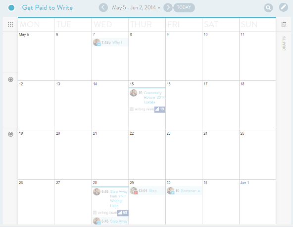 CoSchedule Calendar View