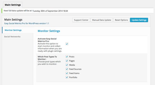 Monitor Settings