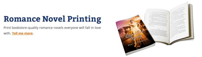 Romance Novel Printing