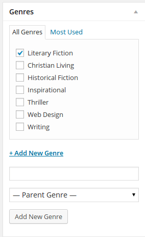 Add new genre