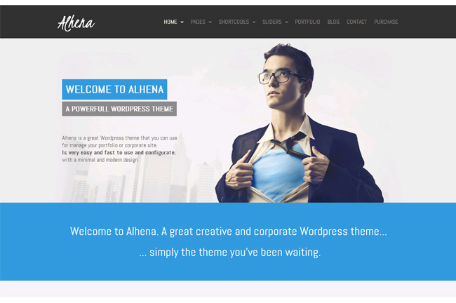 Alhena Free WordPress Theme