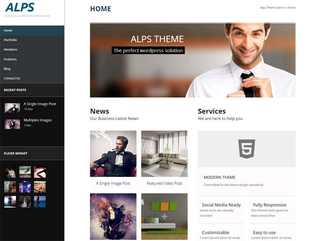 Alps WordPress Theme