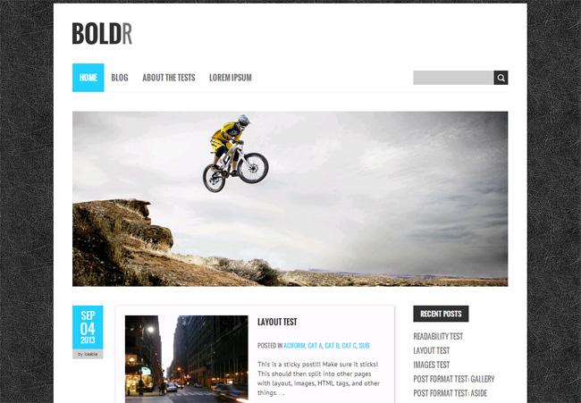 BoldR Free WordPress Theme