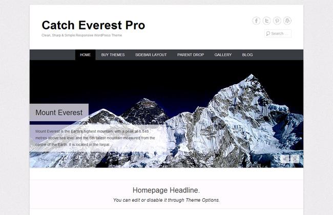 Catch Everest Free WordPress Theme