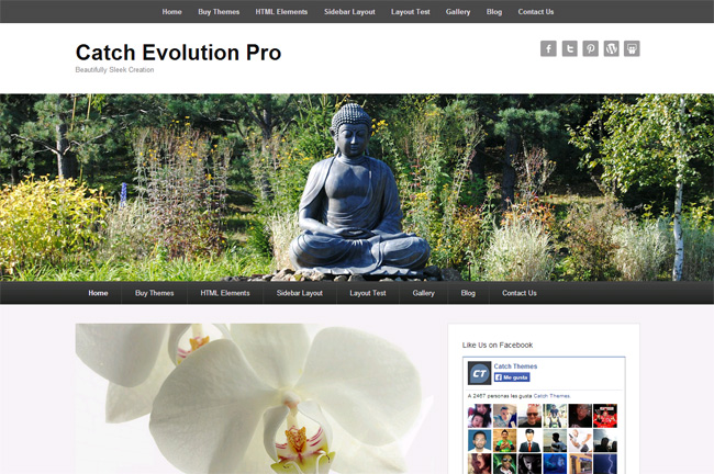 Catch Evolution Free WordPress Theme