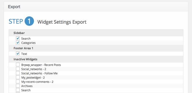 Cherry Framework Export
