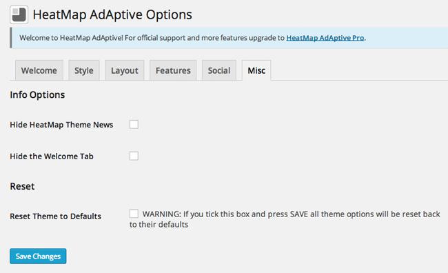 HeatMap Theme Misc Options