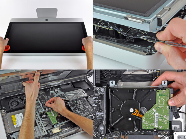 Replacing an iMac Hard Drive
