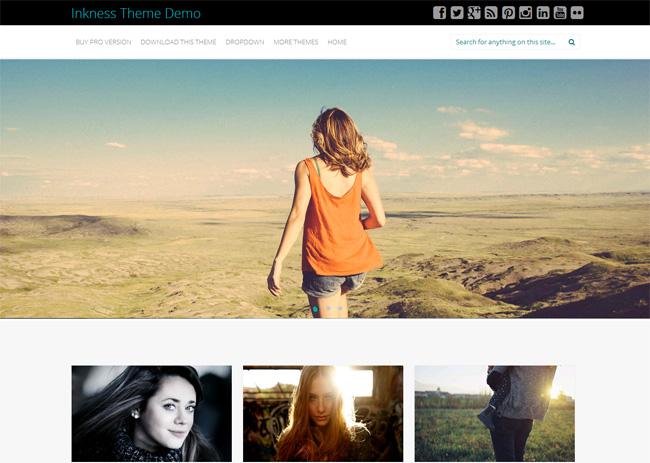 Inkness Free WordPress Theme
