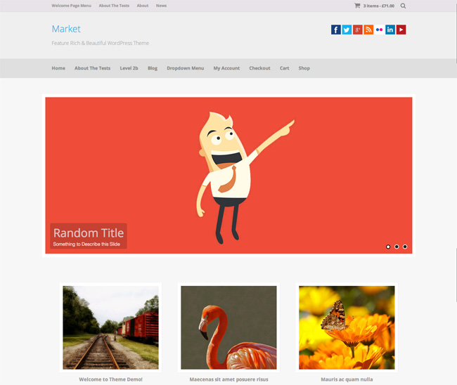 Market Free WordPress Theme