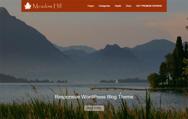 MeadowHill Free WordPress Theme