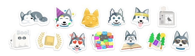 Trello Gold Stickers