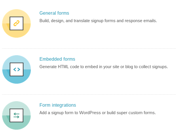 Types of Forms to Build