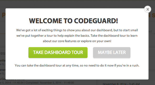 Welcome to CodeGuard