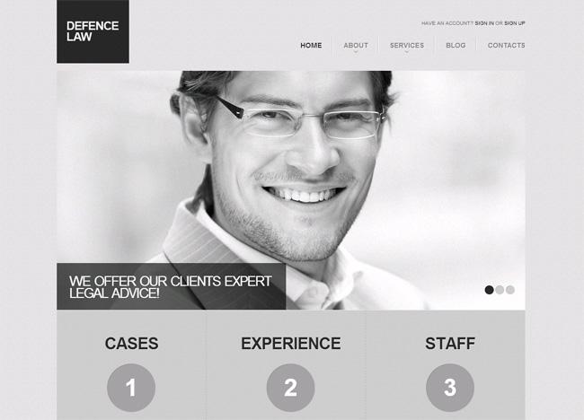 Grey Scale Premium WordPress Theme