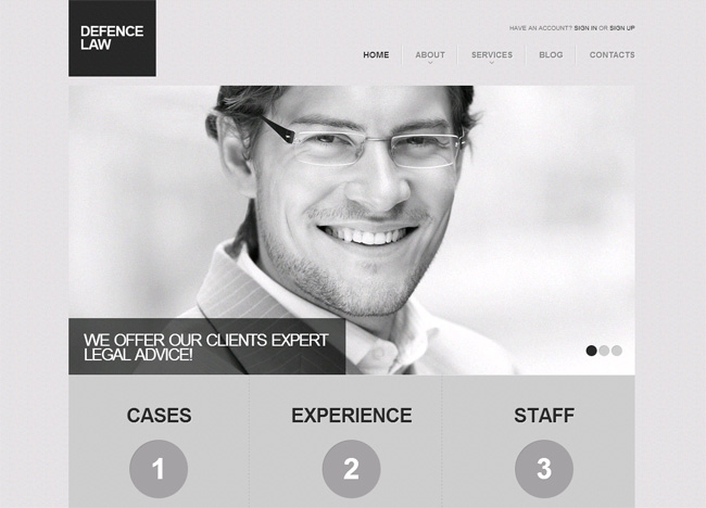 Grey Scale Premium WordPress Theme