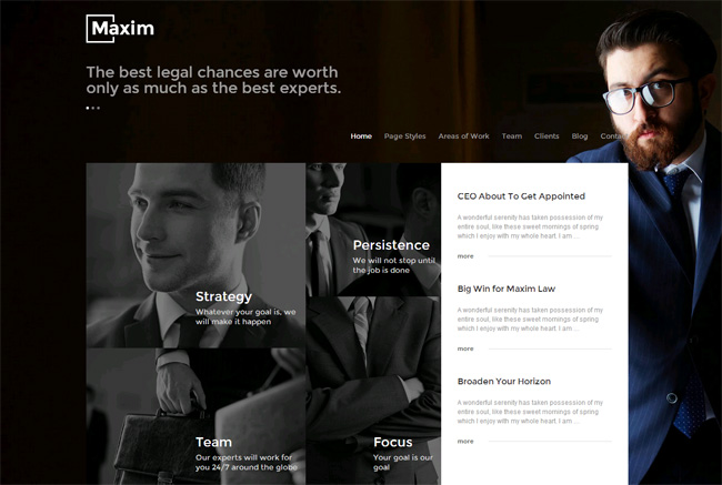Maxim Premium WordPress Theme