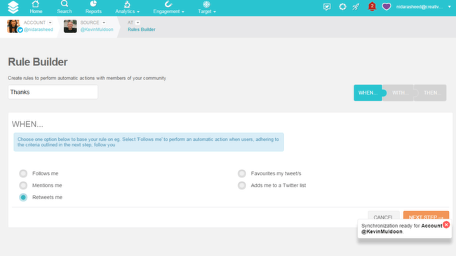SocialBro: Automating Tasks