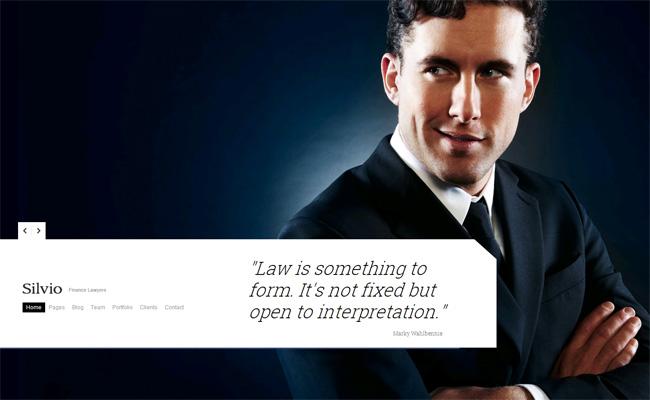 Silvio Premium WordPress Theme
