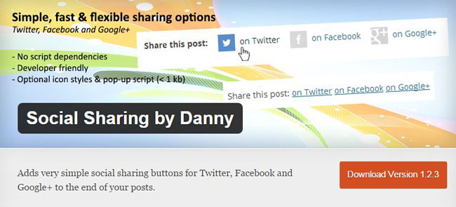 Social Sharing by Danny