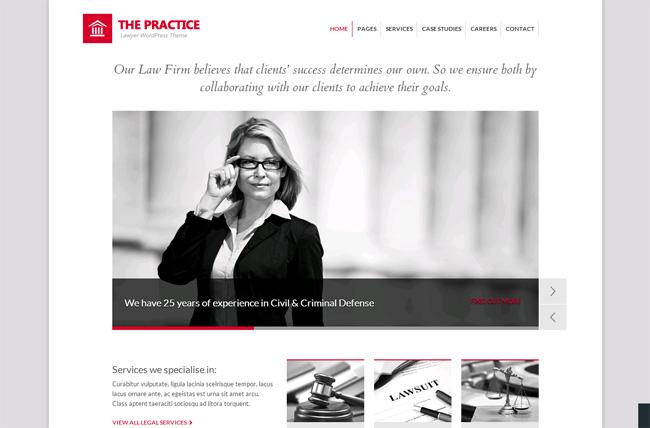 The Practice Premium WordPress Theme
