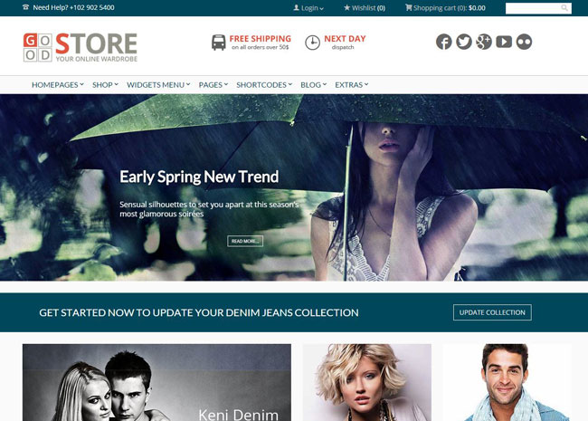 GoodStore WordPress Theme
