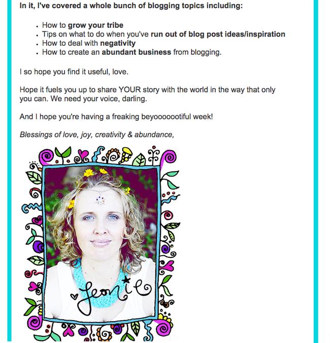 Leonie Dawson's Newsletter