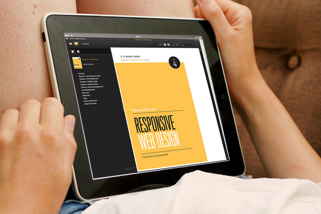 Responsive Web Design book by Ethan Marcotte