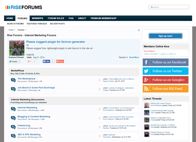 Build a Community Around Your Blog Using Forums