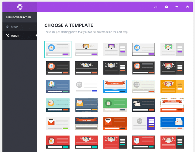 Choose a Form Template