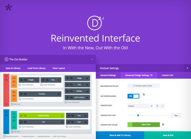 New Builder Interface
