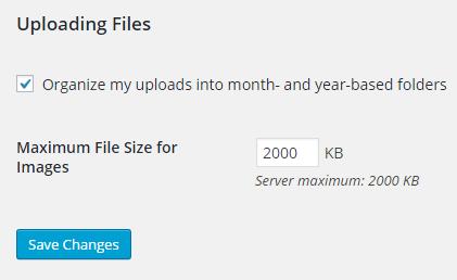 WP Image Size Limit