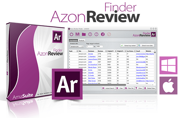 Azon Review Finder