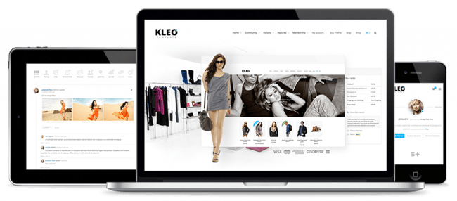 KLEO Responsive Design