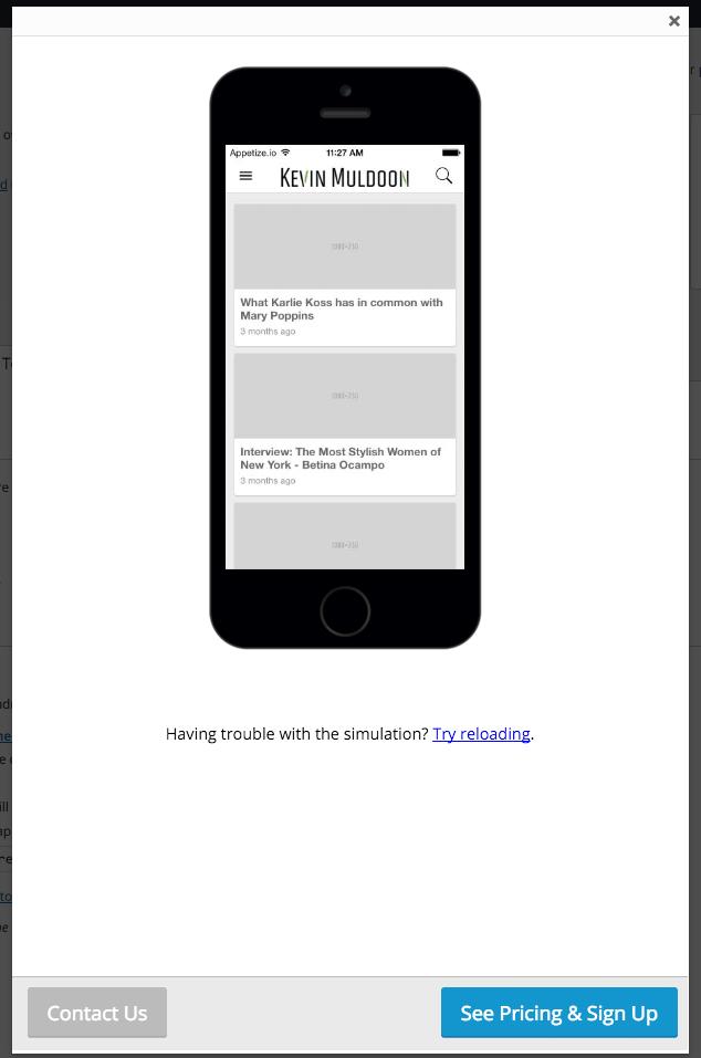 Testing the App