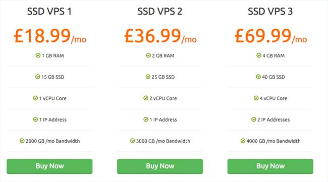SSD VPS Hosting