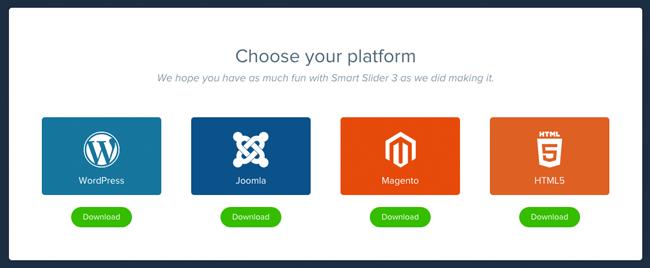 Choose Your Platform