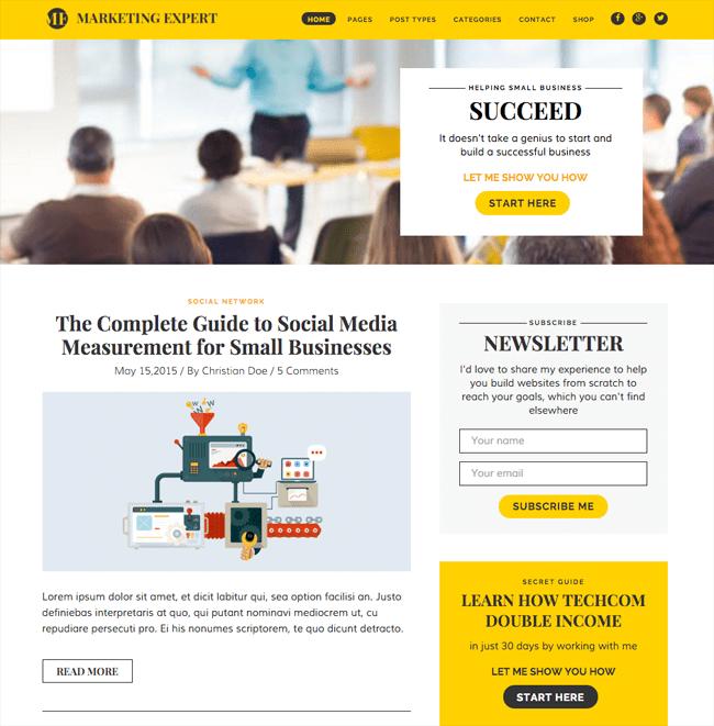 Expert WordPress Theme