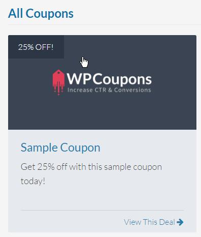 All Sample Deals