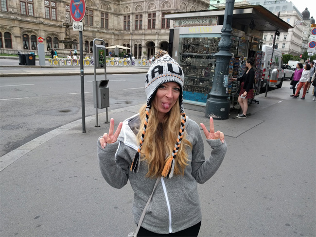 Lisa with Austrian Hat