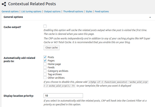 Contextual Related Posts Plugins